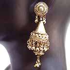 Traditional Indian Gold Earrings EA1_A