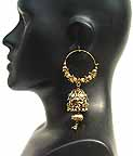 Traditional Indian Gold Earings EA_B