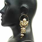 Traditional Indian Gold Earrings EA_C