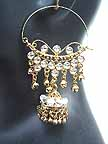 Traditional Indian Gold Earrings EA_D
