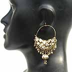 Traditional Indian Gold Earrings EA_E