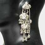 Traditional Indian Silver Earings EA_H