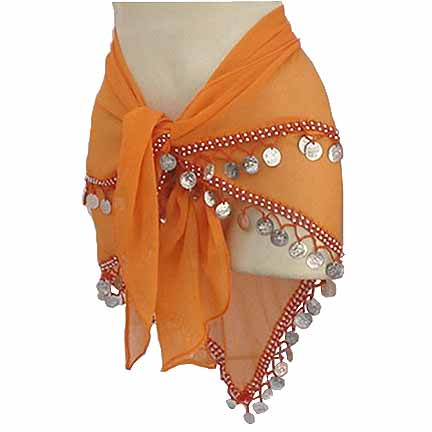 Wholesale Lot 50 Pcs 2 Line Hip Scarf - USD6.99 each Assorted Colors