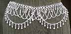 Bellydance Silver Belly Chain Coin Belt Design E