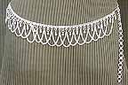 Waist Belly Chain Belly Dance Silver Coin Belt Design Q